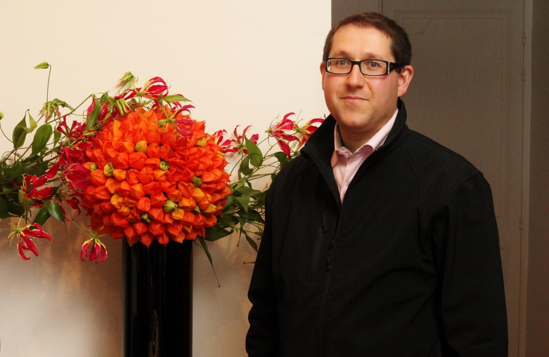 Vincent Rozenberg: «Grâce aux décorations florales, les tables peuvent se décliner à l'infini»