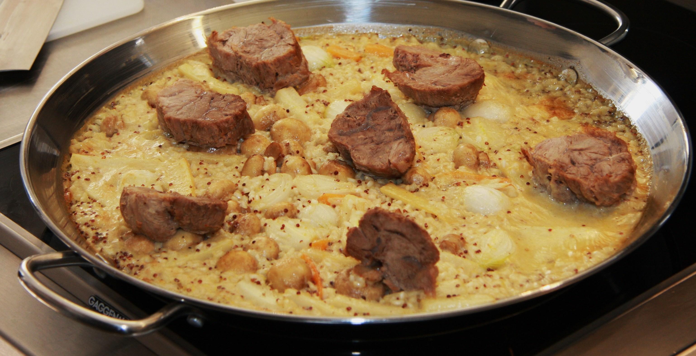 La recette du jeudi blanquette de veau en paella le - Recette de cuisine blanquette de veau ...