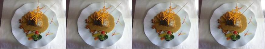 La recette du jeudi: Pavé de bar de ligne de Manche au caramel de camembert Graindorge, blettes et petites girolles