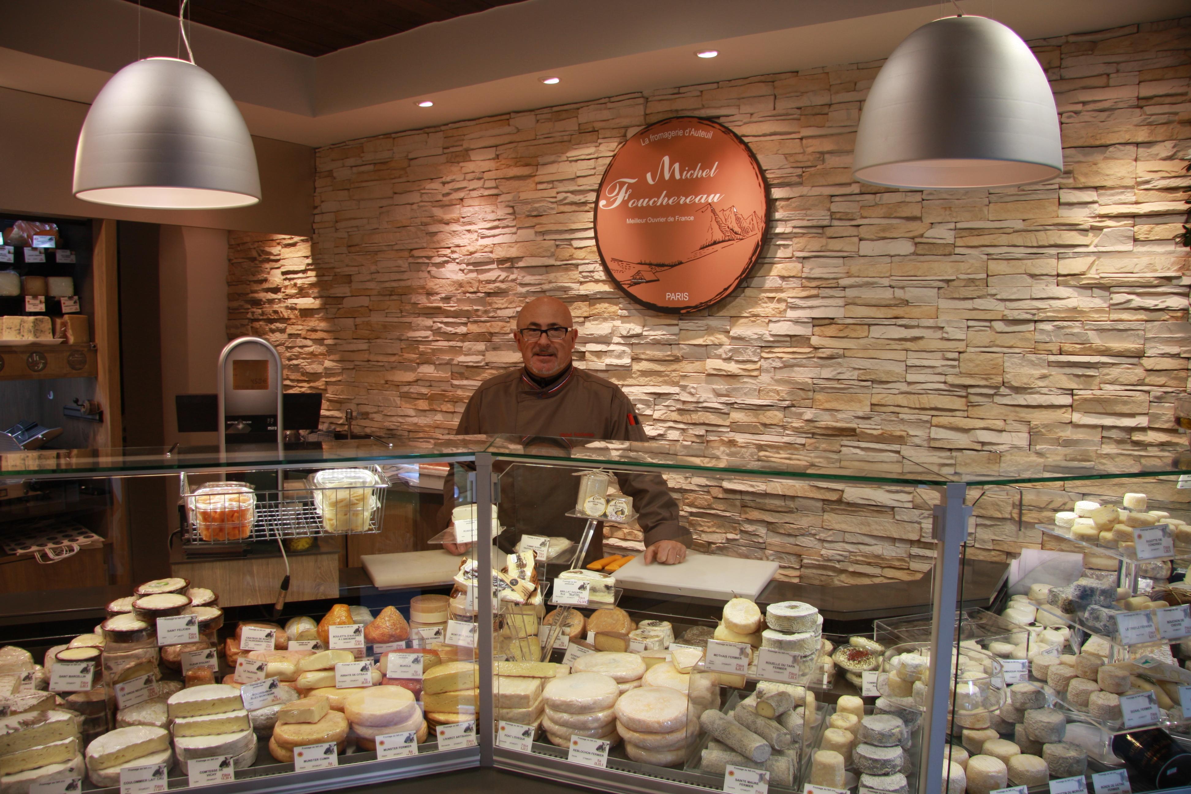 Michel Fouchereau : « L'art du fromage, c'est contribuer à la bonne évolution d'un produit fini ».