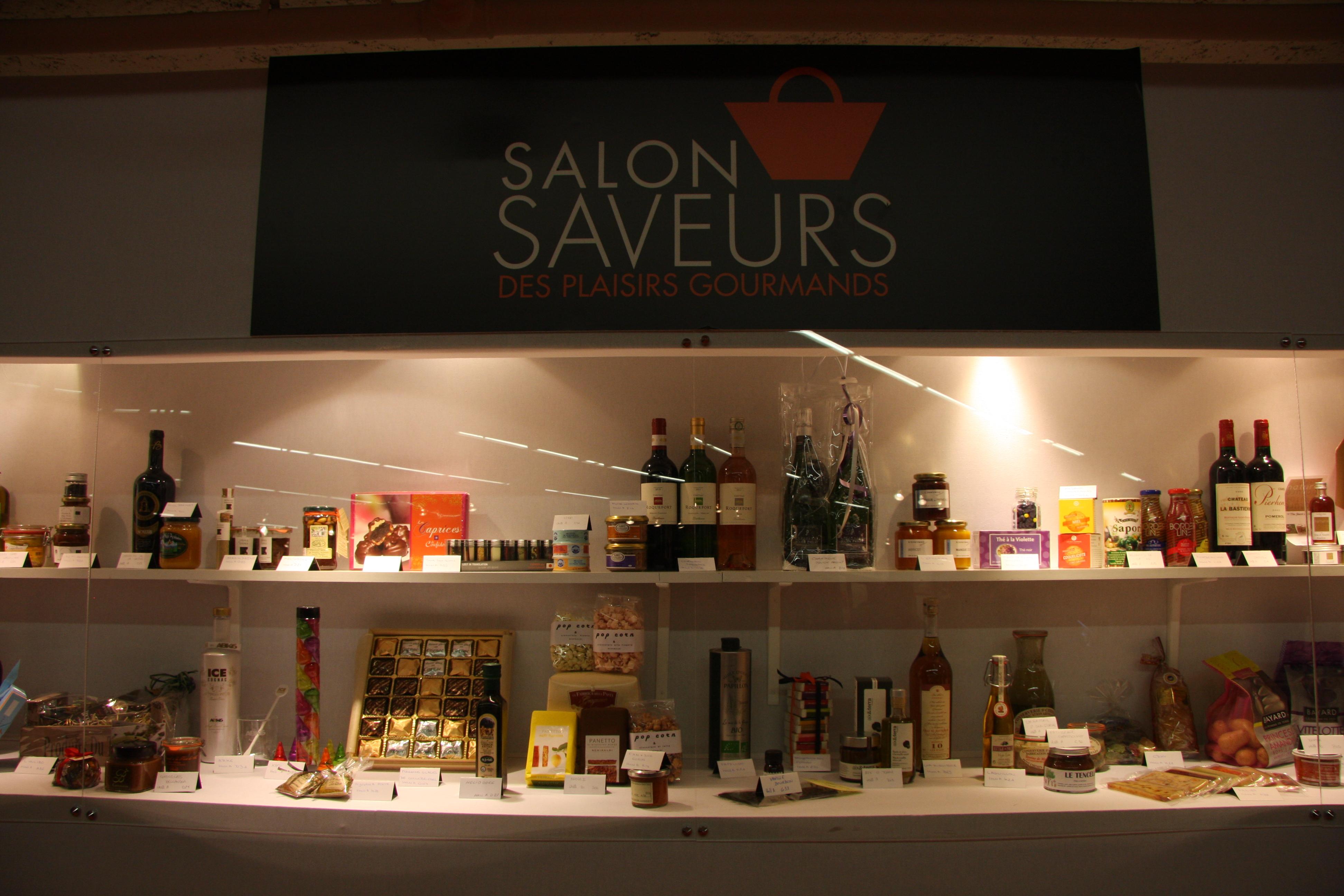 Le salon saveur des plaisirs gourmands le rendez vous for Salon saveurs