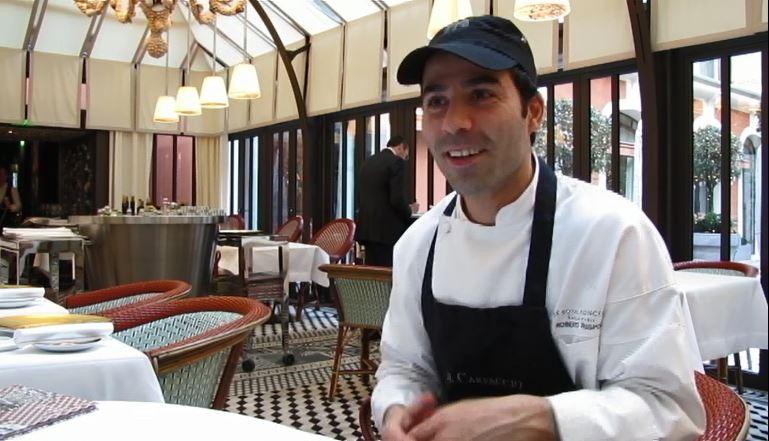 Roberto Rispoli : «La cuisine italienne est complexe dans le goût et simple dans le visuel.»