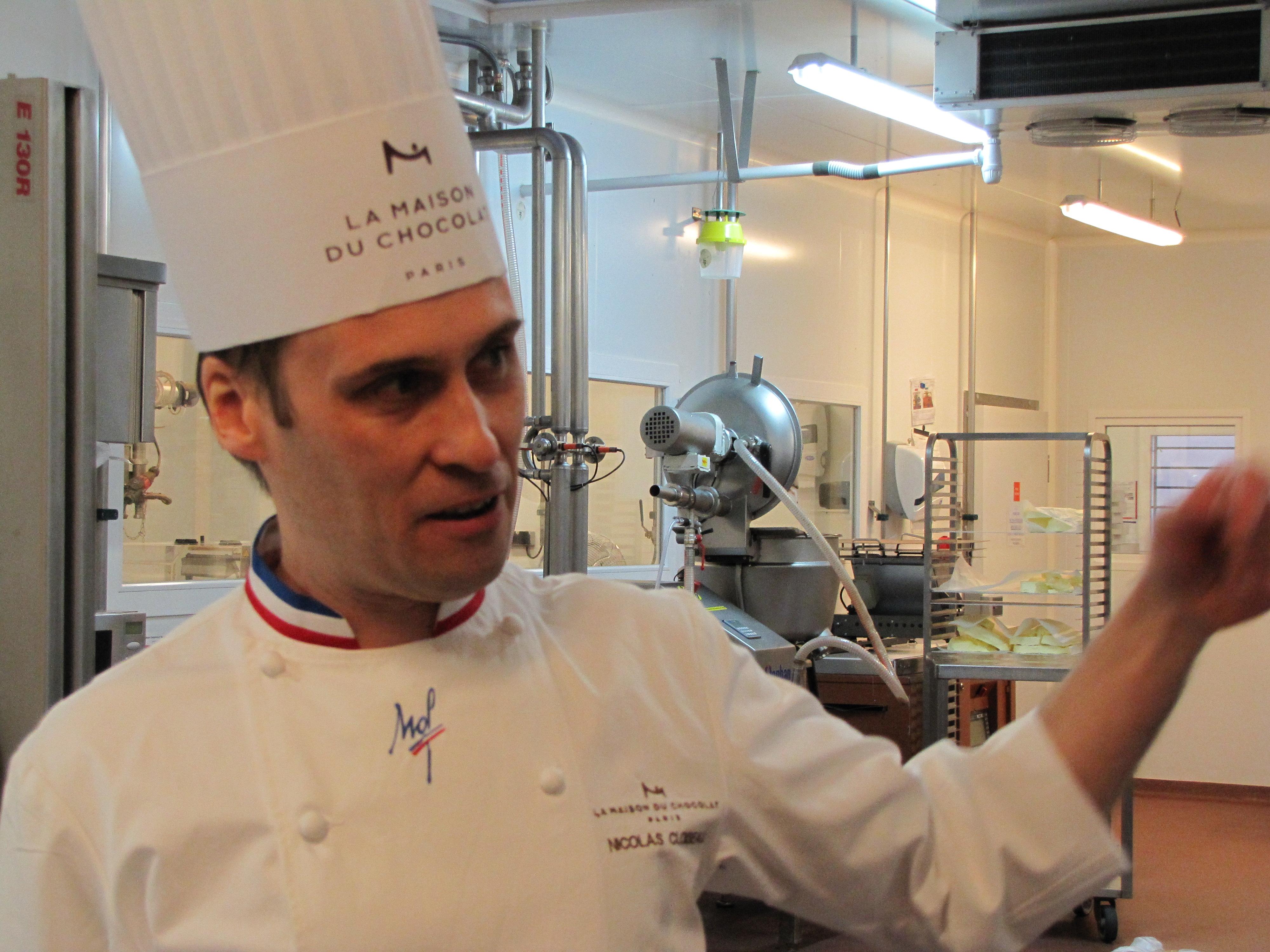 Nicolas Cloiseau : «Le chocolat, c'est une seule matière première qui permet une variété de créations.»