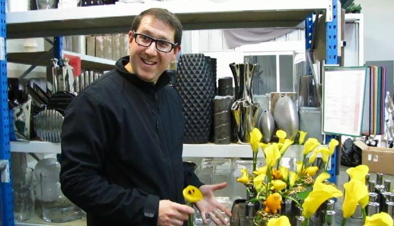 Vincent Rozenberg : «La fleur est à la base de l'inspiration pour chaque décoration de table.»