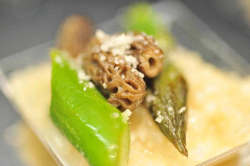 La recette du jeudi : Risotto aux morilles et aux pointes d'asperges vertes