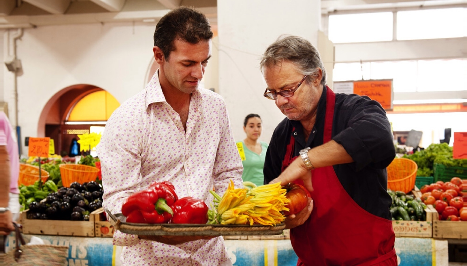 Bruno Gensdarmes : « A La Table du Chef, j'adapte les menus en fonction du marché. »