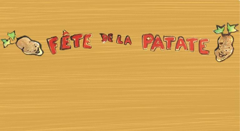 (c) Fête de la Patate