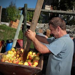 (c) Maison de la pomme et du Biscantin