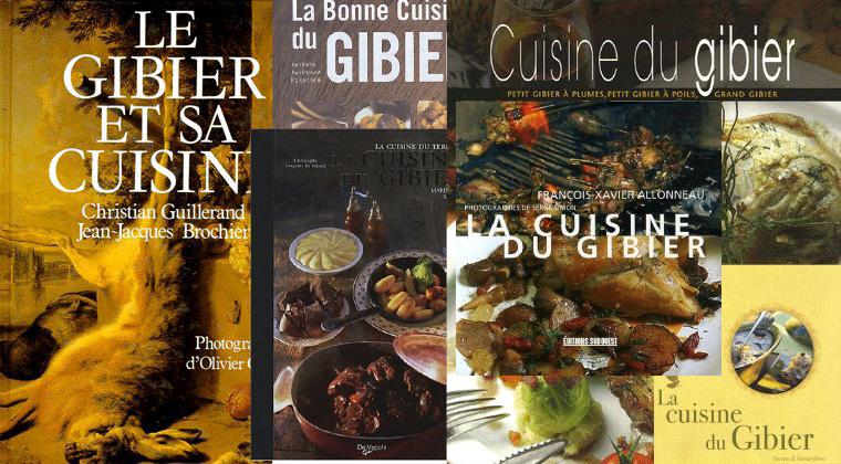 Le coup de cœur de la semaine : les livres de cuisine du gibier
