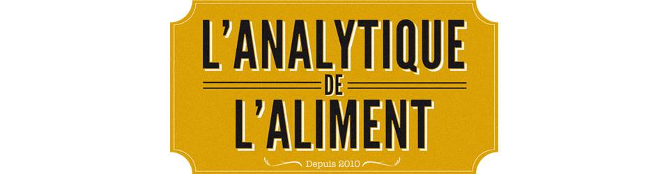 (c) L'Analytique de l'Aliment